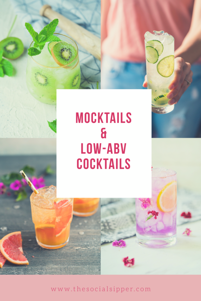 Mocktails & Low-ABV Cocktails