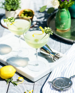 Summer Cucumber Martinis