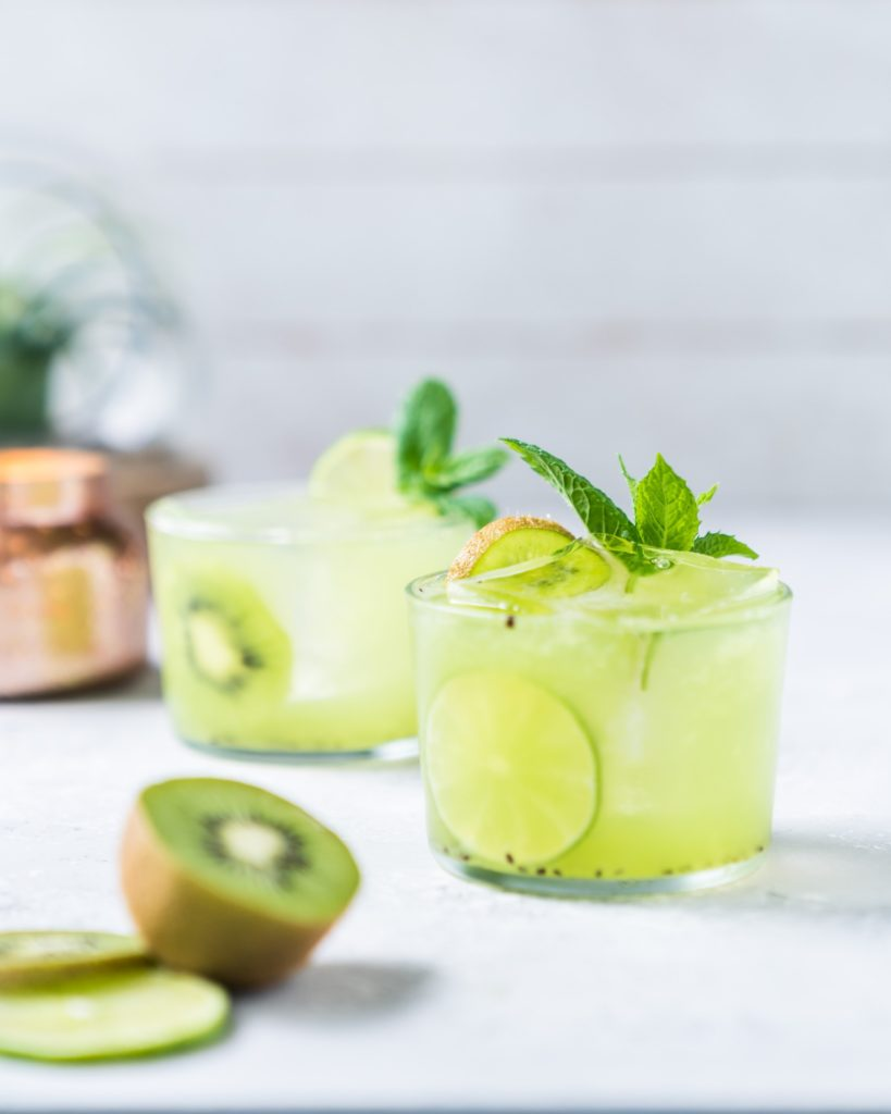 "Mezcal Cocktails: ""Kiwi Be Friends?"""