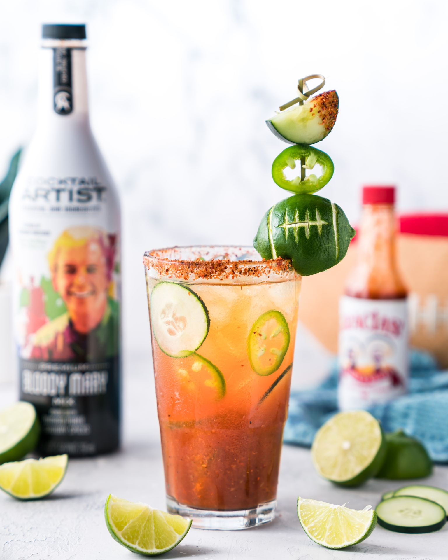 cucumber michelada