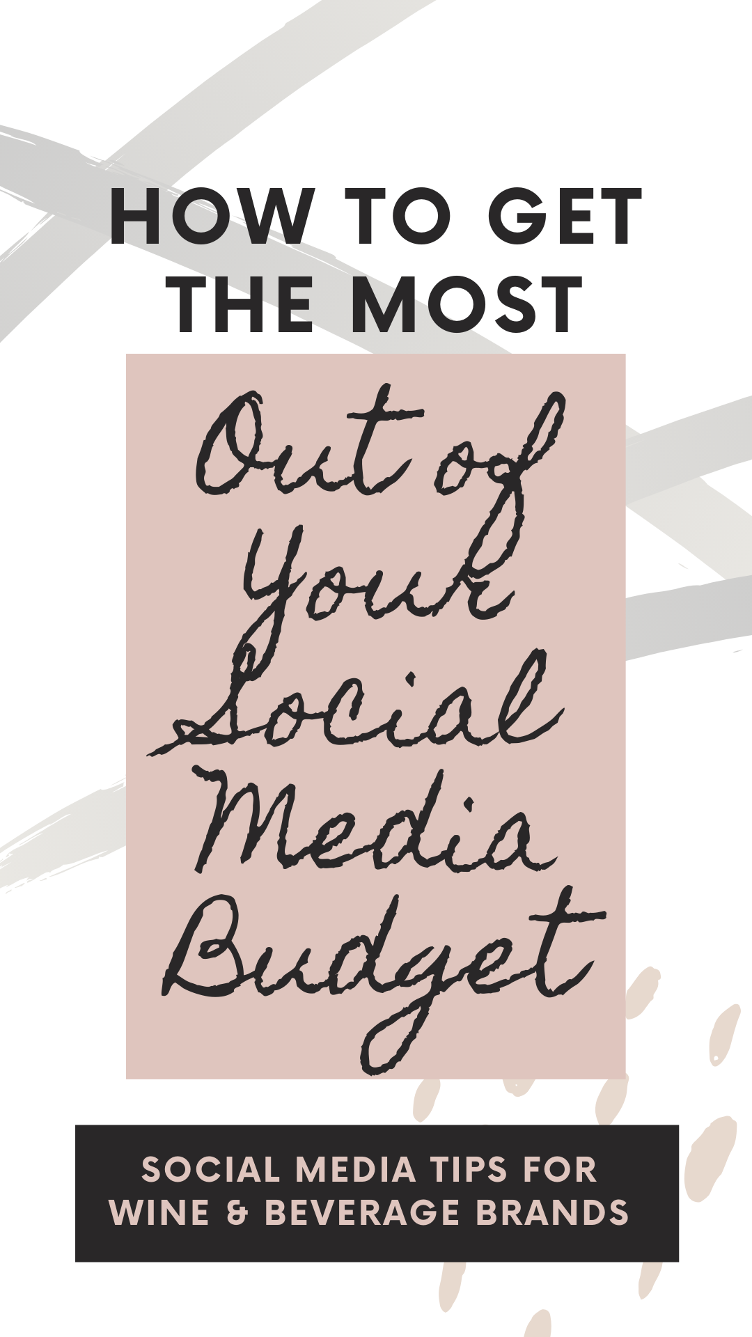 How to get the most out of your social media budget