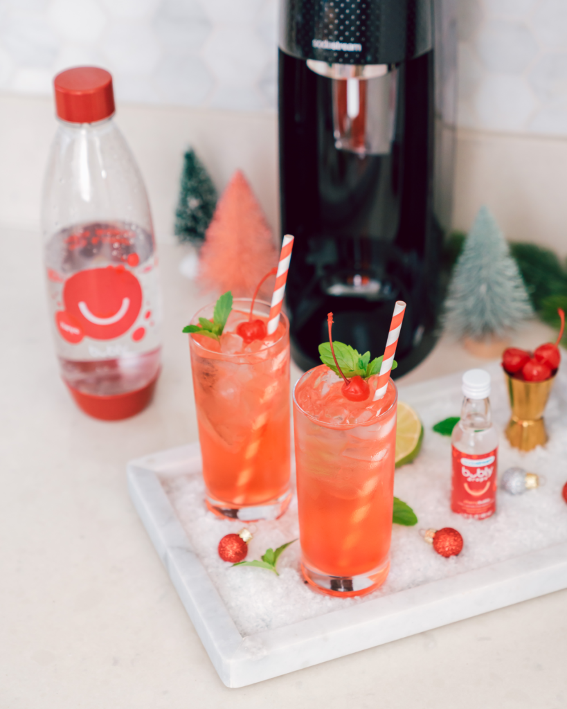 merry cherry cocktail