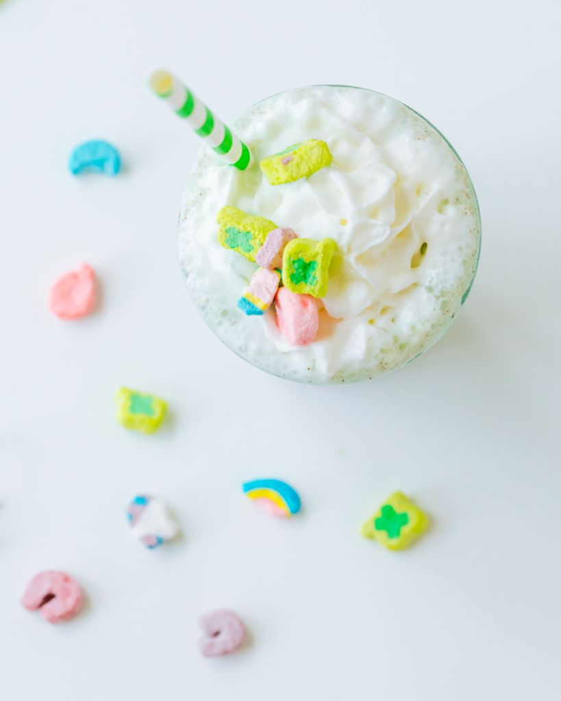 Lucky Charms Spiked Shake