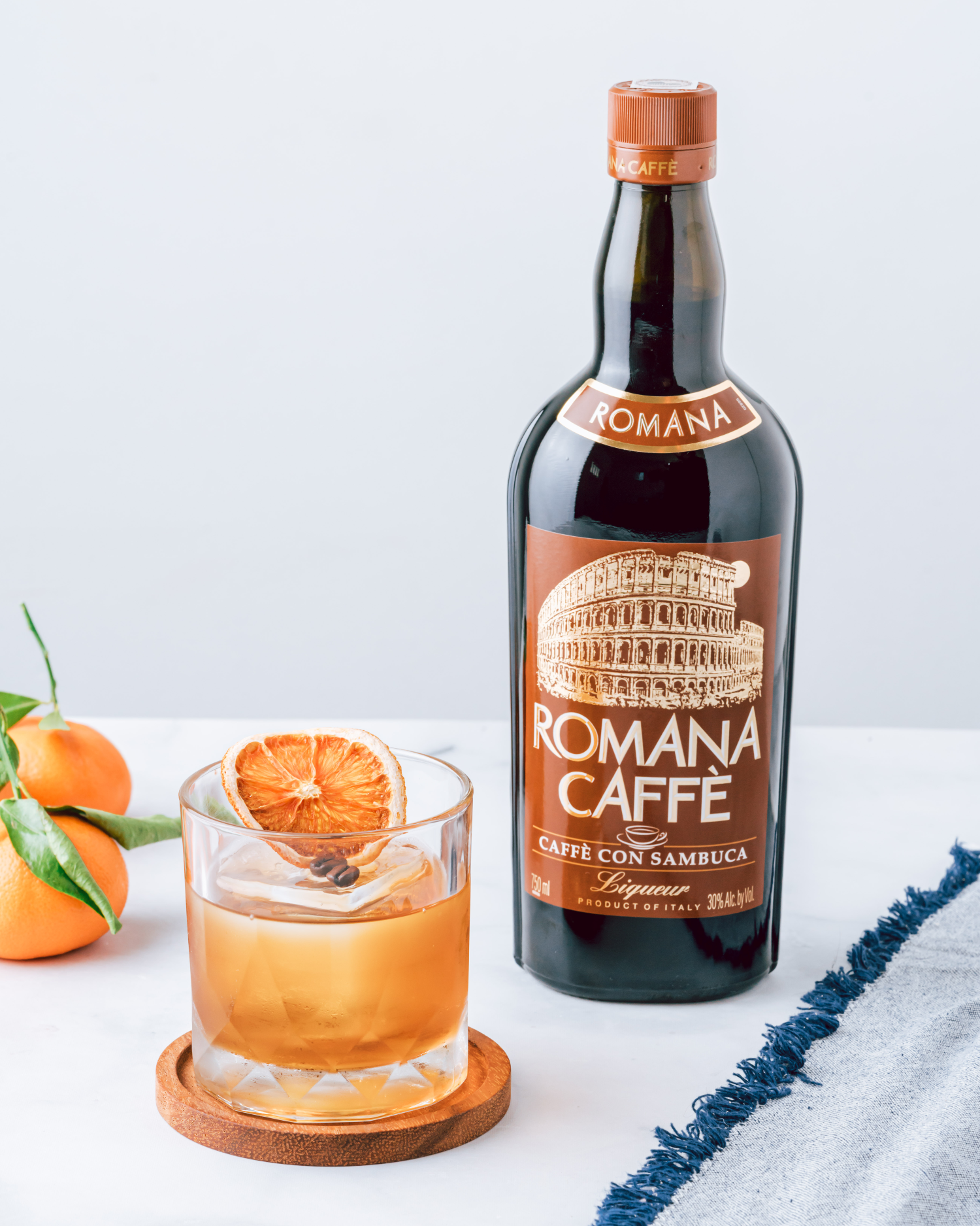 Romana Sambuca Caffè Old Fashioned
