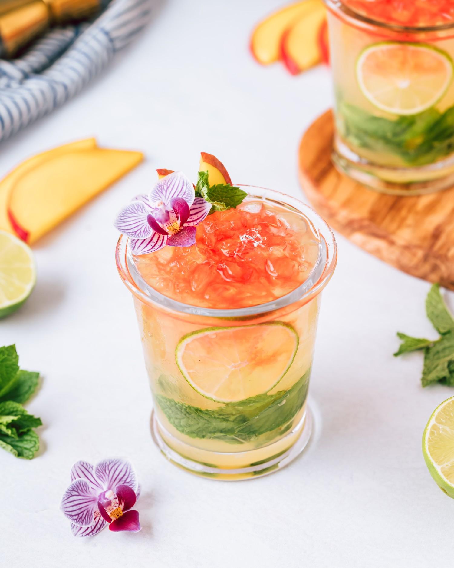 Mango Rum Swizzle