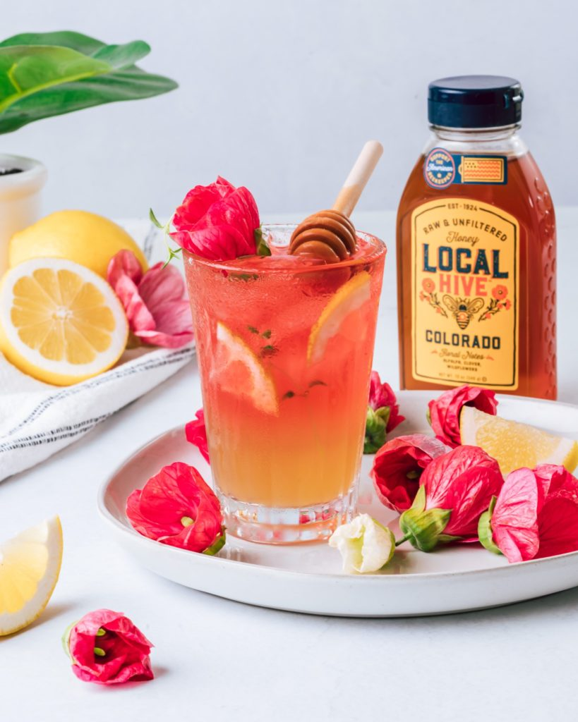 Whiskey Hibiscus Cocktail